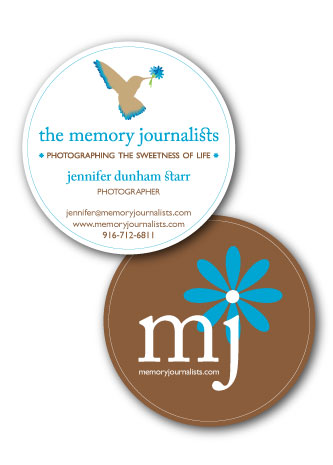 memory journalist business cards