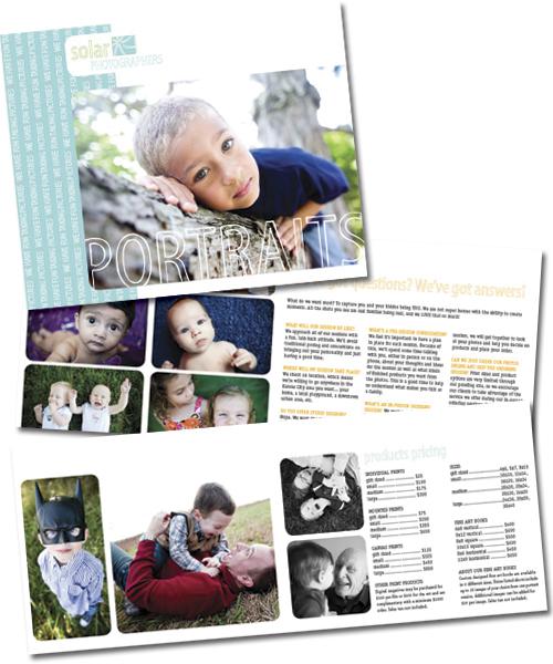 solar photographers portraits brochure