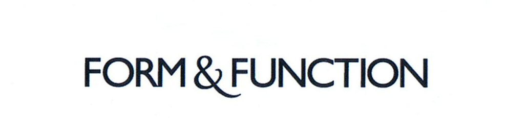 Form & Function old logo