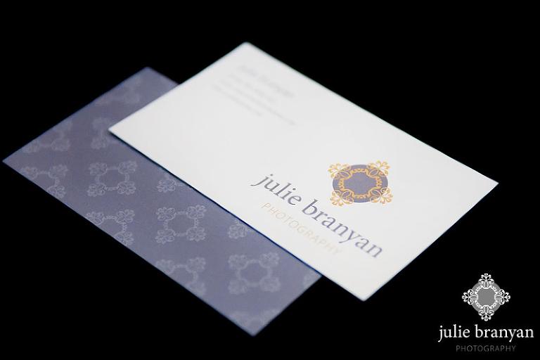 Julie Branyan Photography business cards
