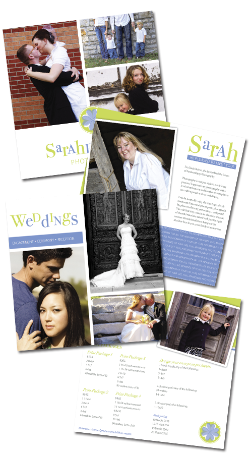 Sarahendipity Photography pricing guide