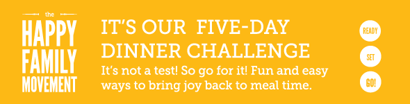 Five Day Dinner challenge visual identity