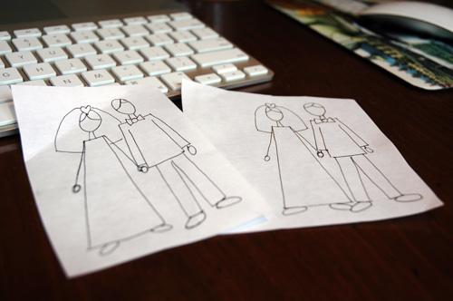 custom illustration for Darbi G. Photography