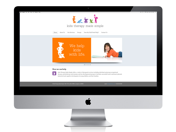 Kids Therapy Made Simple website