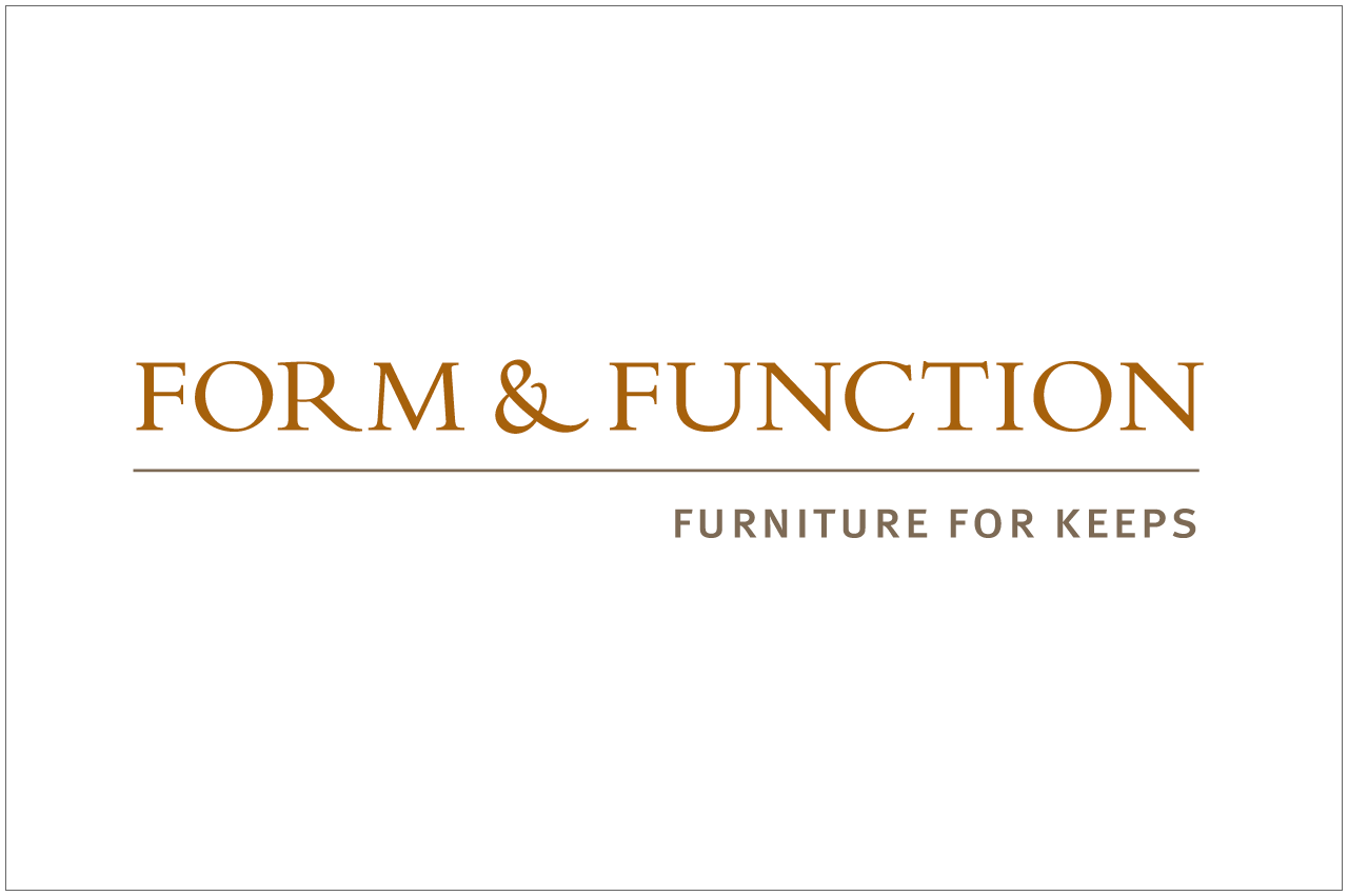 form and function logo designed by a girl named fred