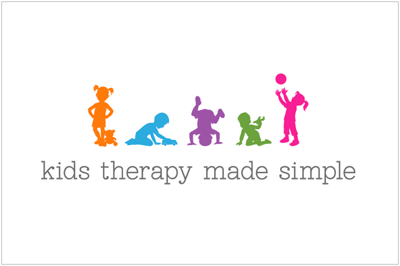 kids therapy made simple logo designed by a girl named fred