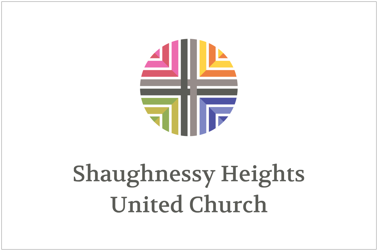 shaughnessy heights united church logo designed by a girl named fred