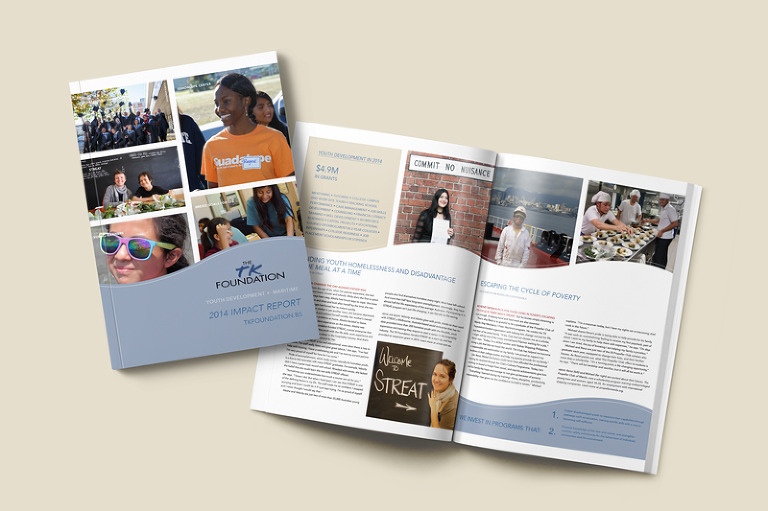 The TK Foundation 2014 impact report